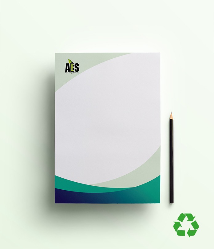Recycled Letterhead & Compliment Slip Packages