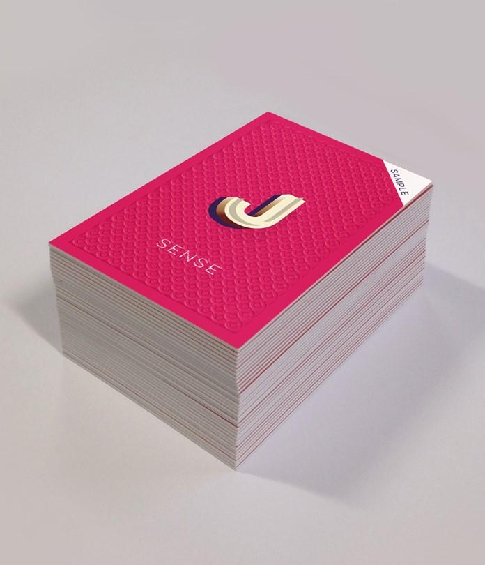 Scodix Sense Business Cards