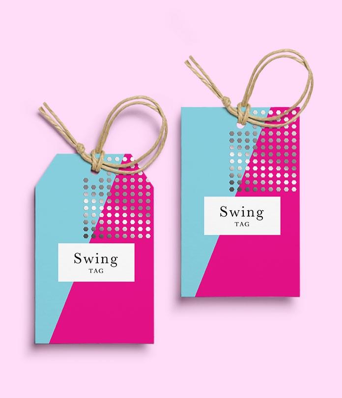 Swing Tags (300gsm Silk)