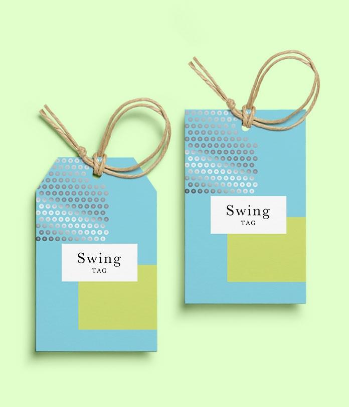 Swing Tags (600gsm Matt Lam)