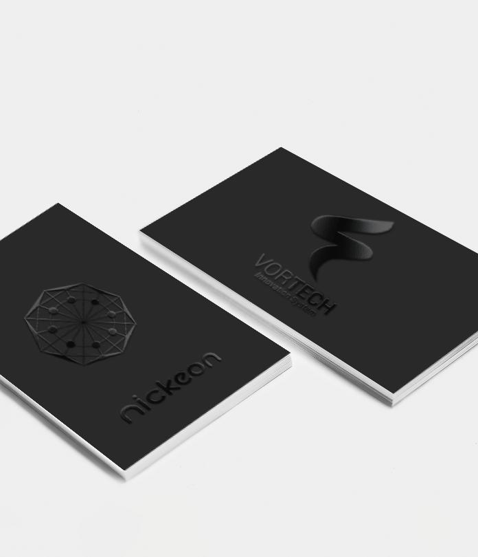600gsm Spot UV Matt Laminated Business Cards