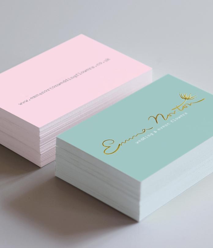 400gsm Foiled Matt Laminated Business Cards