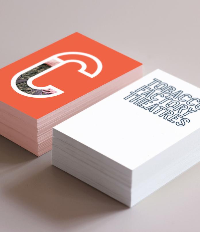 600gsm Matt Laminated Business Cards